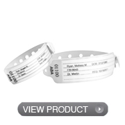 Vinyl Adult / Infant Insert Wristbands